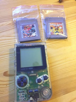 Game Boy pocket + juegos street figther ii
