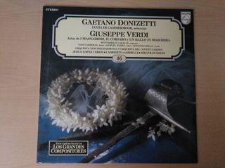 Vinilo Gaetano Donizetti Giuseppe Verdi