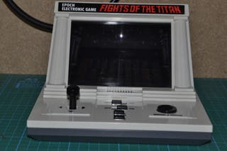 Epoch Electronic Game - Fight of the titans