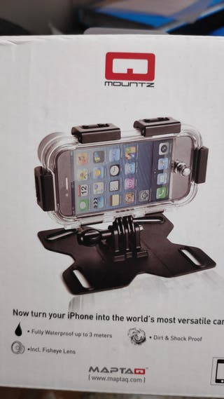 Camara deportiva funda Q mountz para iphone 5 ipod