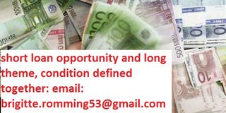 Financing and credit opportunity