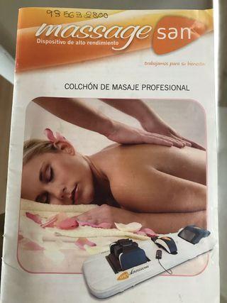Cama de masaje y relax