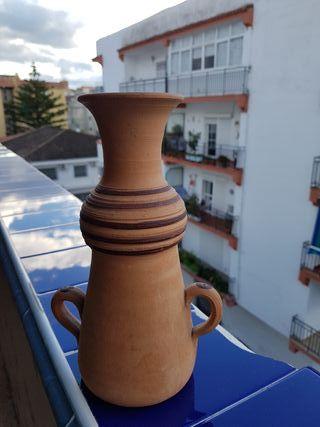 recipiente decoración artesanía barro!!!