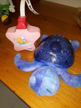 tortuga y estrella