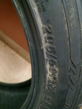 neumático 205 17 50
