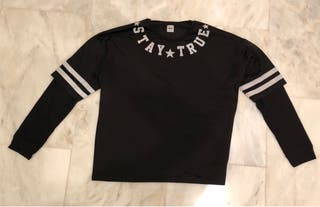 Camiseta doble manga asos L