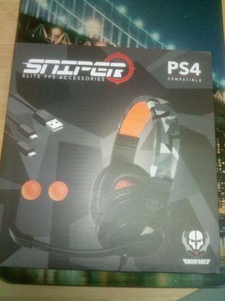 cascos sniper elite ps4