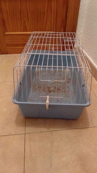 jaula para conejo o coballas