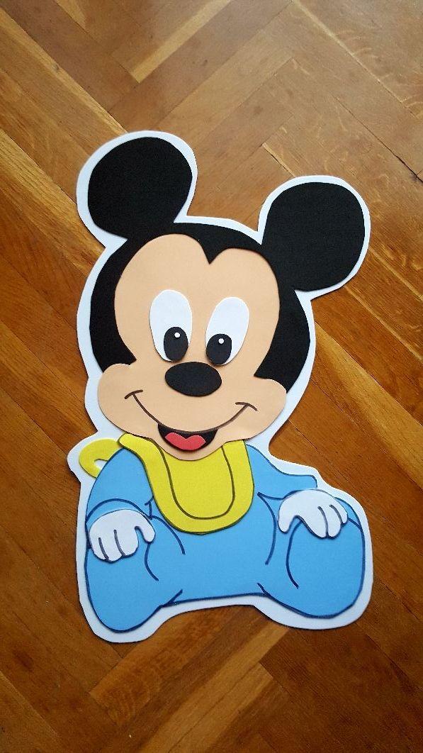 Decoracion Cumpleanos Mickey Bebe De Segunda Mano En Madrid En Wallapop