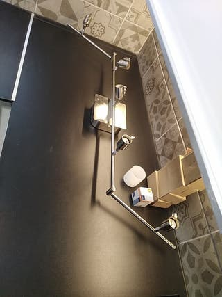 Lampara techo articulada nueva