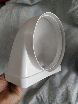 Codo tubo campana extractora