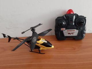 helicóptero radio control a pilas