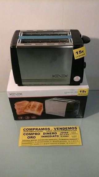 KENEX TOSTADORA 2 REBANADAS