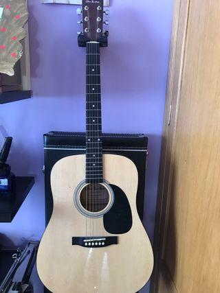 Guitarra acústica Glenn Burton