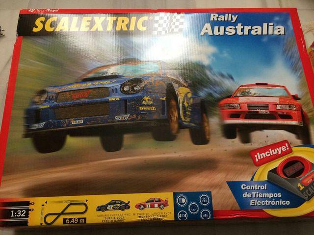 Scalextric Rally Australia