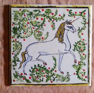 Azulejo Unicornio