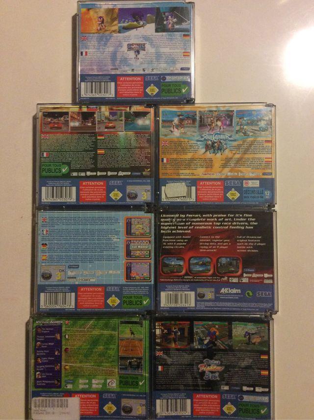 Lote 8 Juegos Sega Dreamcast De Segunda Mano Por 49 En Alzira En