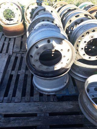 llantas aluminio o acero para camion