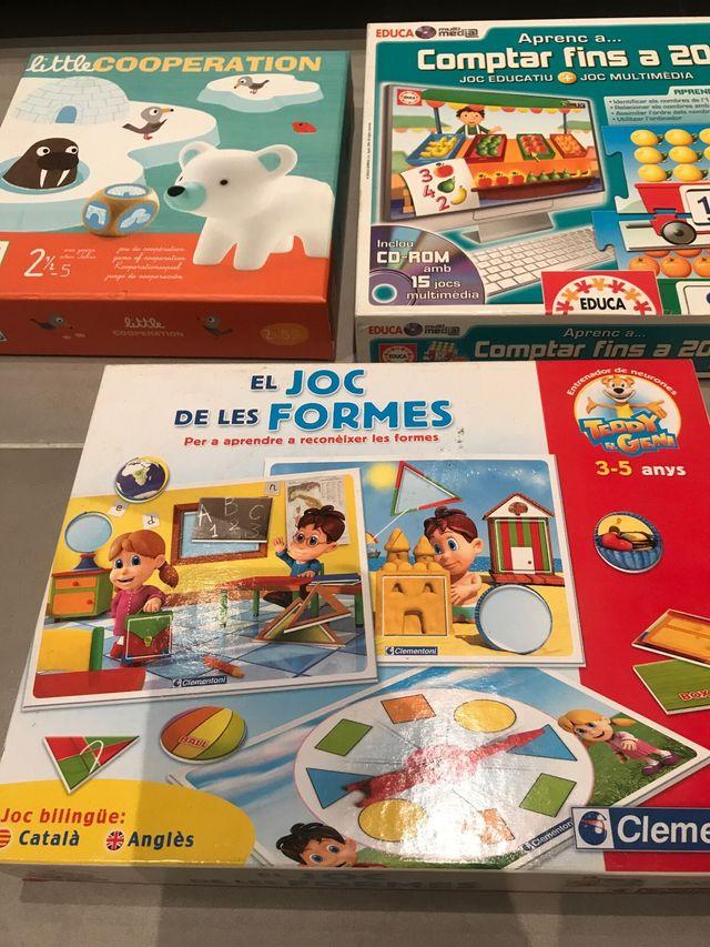 Juegos Educativos Para Ninos De 3 A 5 Anos De Segunda Mano Por 10