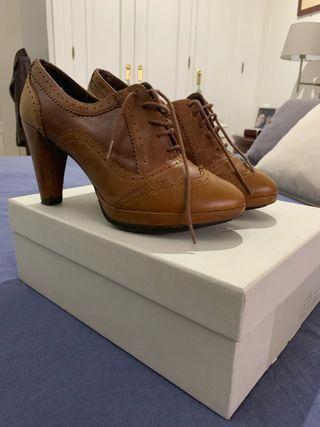 Zapatos cordones talla 38