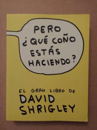 DAVID SHRIGLEY EL GRAN LIBRO COMIC