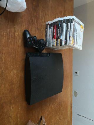 PS3 + Juegos + 1 MANDO