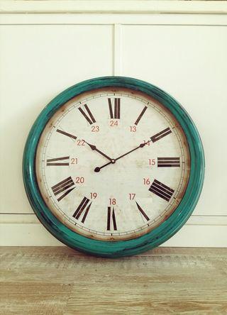 Reloj grande de pared nuevo estilo vintage