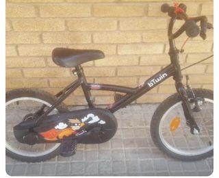 Bicicleta para niños de 4 a 6 años