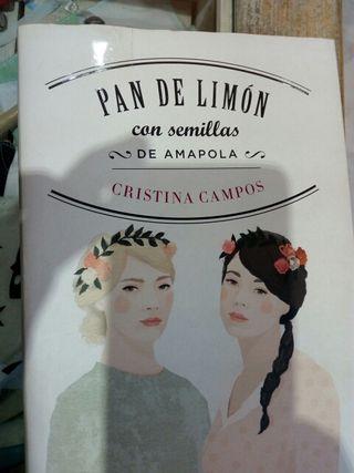 libro : Pan de limón con semillas de amapola