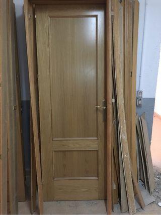 Puertas de paso madera roble de segunda mano por 25 en for Puertas de paso segunda mano