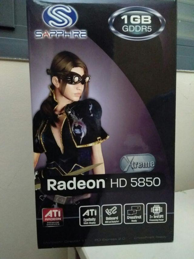 Tarjeta Gráfica AMD Radeon HD 5850