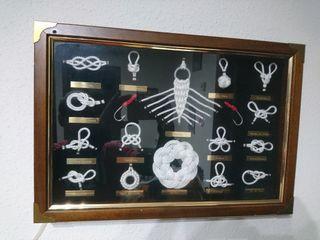 cuadro nudos marineros
