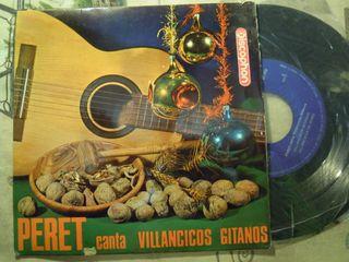4 DISCO SINGLE DE VINILO PERET VILLANCICOS