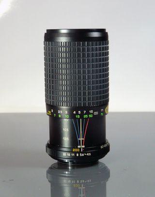 OBJETIVO A ROSCA (M42) 80-200mm f 4.5 MC MACRO