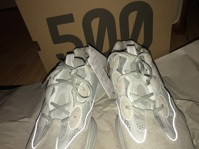 YEEZY 500 SALT size 10 UK