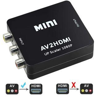 NUEVO.Convertidor RCA a HDMI Audio y Video 1080p