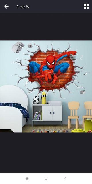 Spiderman vinilo decorativo