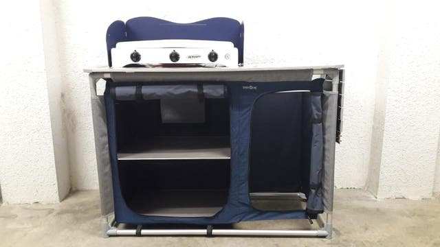 Mueble cocina camping Brunner de segunda mano por 110 € en Torrent ...