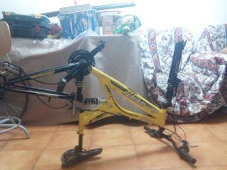 cuerpo de bicicleta mountain bike