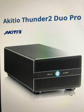 Cajas de discos duros Thunderbolt 2