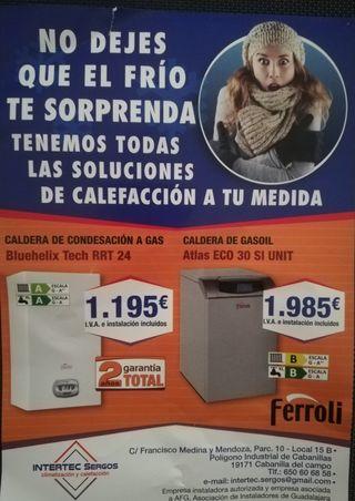 OFERTA CALDERA GAS Y GASOIL