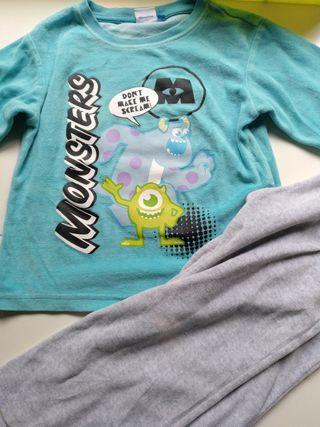 pijama talla 3_4 años