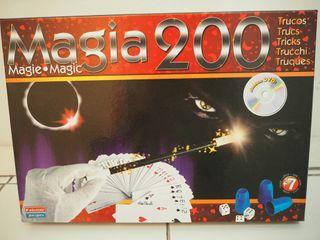 Juego de magia 200 trucos