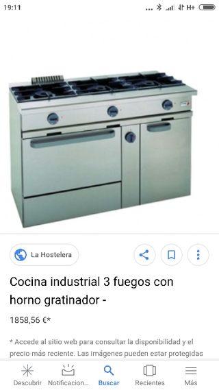 Cocina Industrial Hostelería
