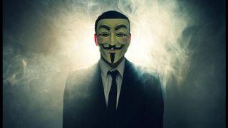 Máscaras Anonymous. 20 uds. Originales, nuevas.