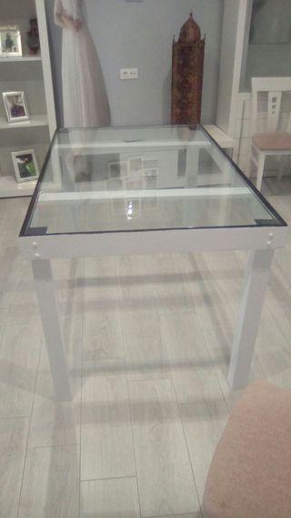 Mesa de Cristal Moderna