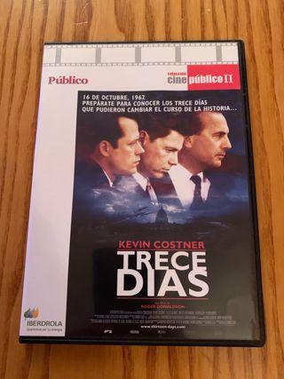 Dvd trece días pelicula