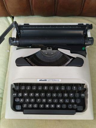 mquina escribir olivetti