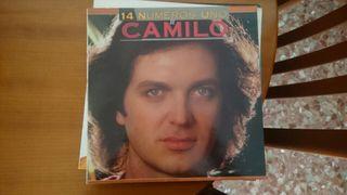 """Disco vinilo de Camilo Sesto """"los 14 números 1"""""""