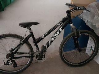 bicicleta montaña de mujer